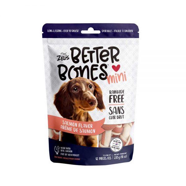 Better Bones os arôme de saumon 285 g de Zeus