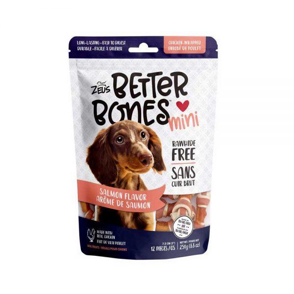 Better Bones os arôme de saumon enrobé de poulet 251 g