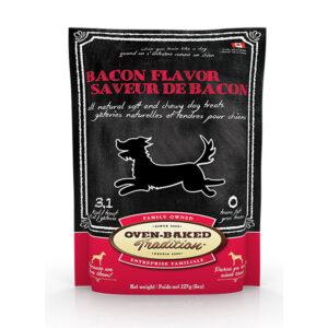 Gâteries tendres au bacon de Oven-Baked