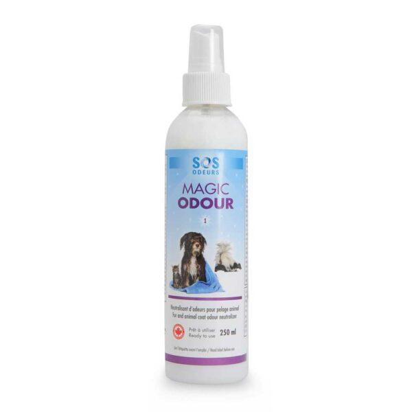 Neutralisant d'odeurs pour pelage animal de SOS Odeurs