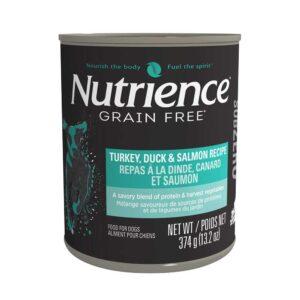 Nutrience Subzero canne chien dinde, canard et saumon