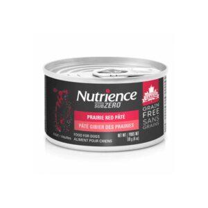 Nutrience Subzero canne chien gibier des prairies