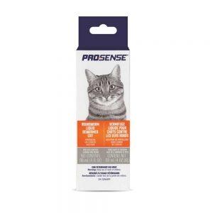 Vermifuge liquide contre les vers ronds pour chat Prosense